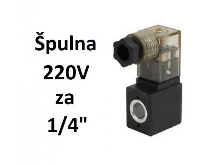 Spulna 220V AC za pneumatske razvodnike 1/4 i druge