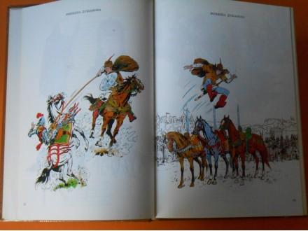 Srpski Vitezovi-Narodne junačke pesme-kolor,ilustracije