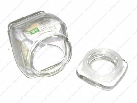 Staklena hermeticka teglica 350 ml