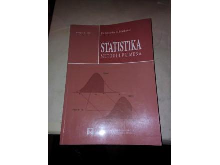 Statistika metodi i primena - dr Milanka T. Marković