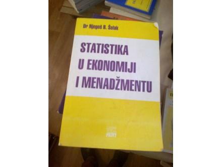 Statistika u ekonomiji i menadžment - dr Njegoš B Šolak