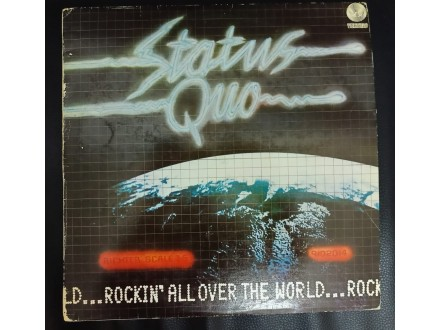 Status Quo – Rockin` All Over The World LP (MINT,1978)