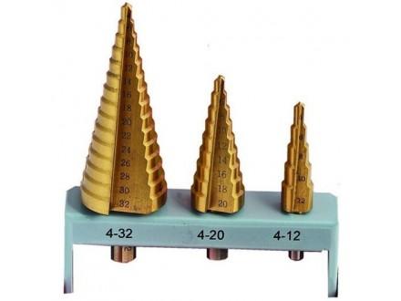 Stepenasta burgija Titan HSS 4-32mm 3kom. FESTA