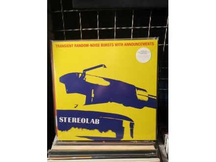 Stereolab ‎– Transient Random-Noise Bursts With Announc