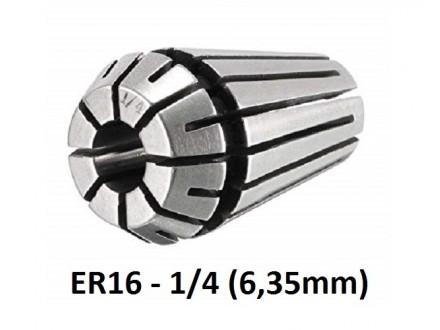 Stezna caura ER16 - 1/4 (6.35mm) - Elasticna caura