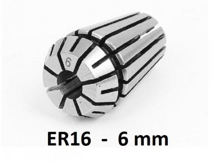 Stezna caura ER16 - 6mm - Elasticna caura