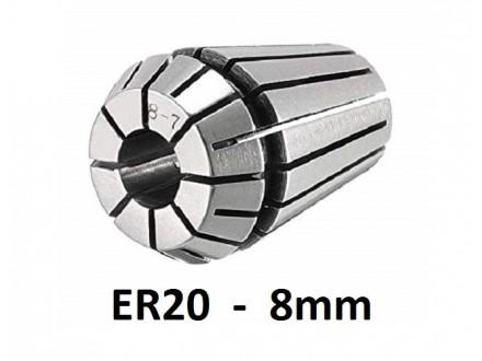 Stezna caura ER20 - 8mm - Elasticna caura