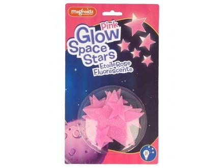 Stikeri - Pink Glow Space Stars