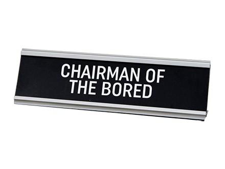 Stona dekoracija - Chairman of the Bored - Harvey Makin