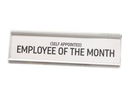 Stona dekoracija - Employee Of The Month - Harvey Makin