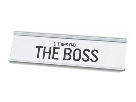 Stona dekoracija - The Boss - Harvey Makin