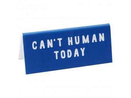 Stona poruka - MTE Can`t Human Today - My Thoughts Exactly