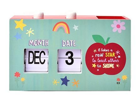 Stoni kalendar - Cheerfull, Teach Others To Shine - Cheerfull