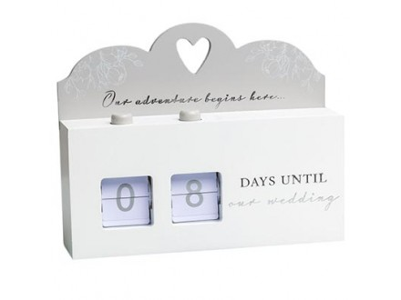Stoni kalendar - Countdown to Wedding - Amore