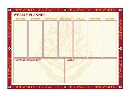 Stoni planer - HP, Hogwarts, 9 3/4 - Harry Potter