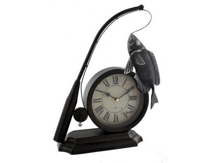 Stoni sat Fishing Rod &; Fish Clock