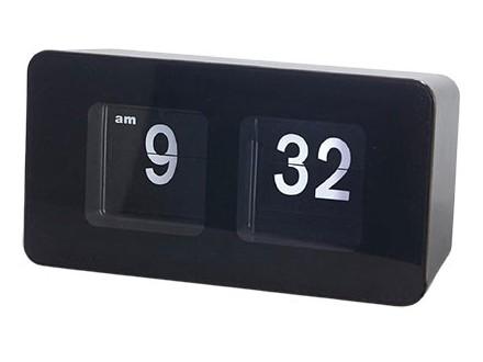 Stoni sat - Flip Clock, Black - Balvi