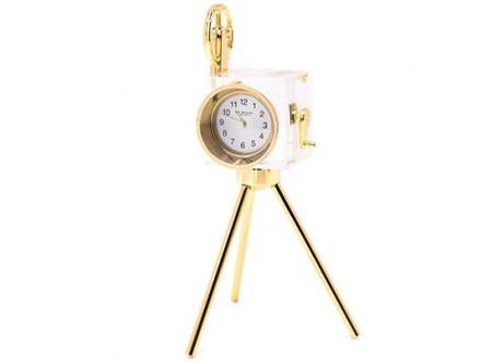 Stoni sat - Mini Clock, Camera on Tripod - William