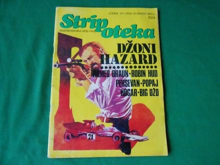 Stripoteka br.824-džoni hazard-romeo braun-/STR-193/