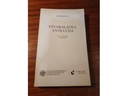 Stvaralacka evolucija - Anri Bergson