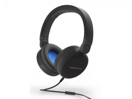 Style 1 Talk crne slušalice sa mikrofonom