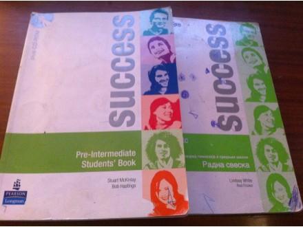 Success Pre - intermediate knjiga + radna sveska