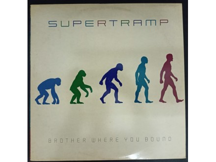 Supertramp - Brother Where You Bound LP (MINT,1985)