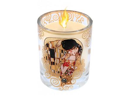 Sveća - Klimt, The Kiss, Vanilla - Gustav Klimt