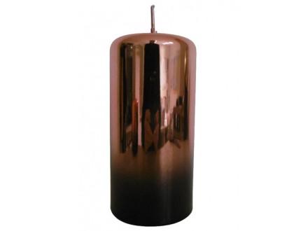 Sveća - Pillar, Copper Metallic