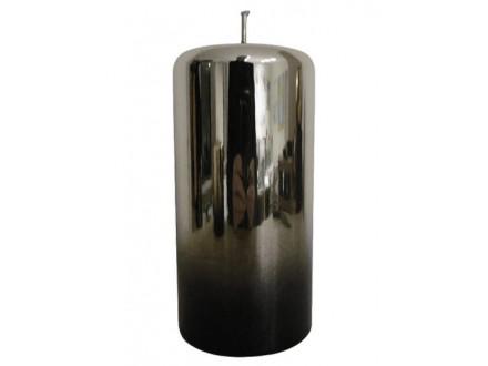 Sveća - Pillar, Silver