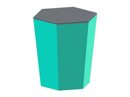 Sveća - Skittle, Turquoise and Dark Grey