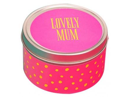 Sveća - Tin Neon Pop, Lovely Mum - Neon Pop
