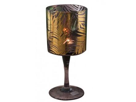 Svećnjak - Gold Palm Leaf - Hestia