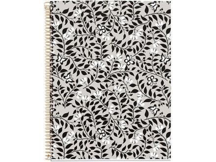 Sveska - Floral, Always Black