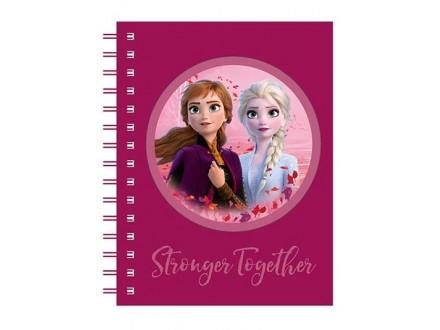 Sveska - Sp A5, Frozen, Stronger Together - Frozen
