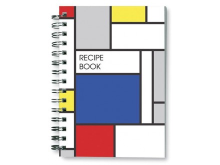 Sveska za recepte - Colour Block, Large Blue Block