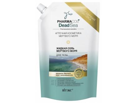 TEČNA SO IZ MRTVOG MORA za telo `PHARMACOS DEAD SEA` , 170 ml