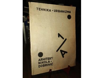 TEHNIKA URBANIZMA I/A: Elementi - Nikola Dobrović