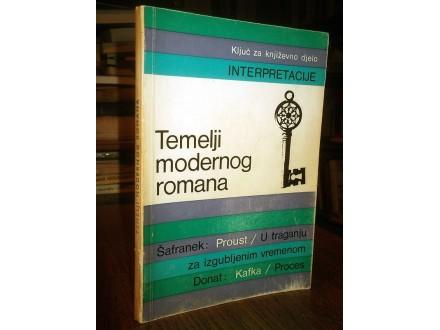 TEMELJI MODERNOG ROMANA (Proust / Kafka)