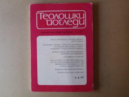 TEOLOŠKI POGLEDI 1 - 4 / 1997