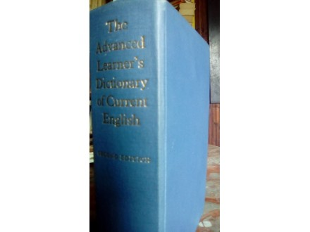 THE ADVANCED LEARNER`S DICTIONARY OF CURRENT ENGLISH