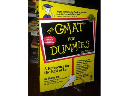 THE GMAT FOR DUMMIES - Suzee Vlk