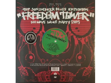 THE JOHN SPENCER BLUES EXPLOSION -FREEDOM TOWER