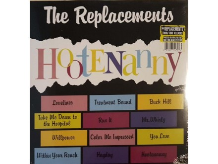 THE REPLACEMENTS - HOOTENANNY - LP