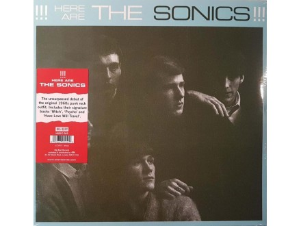 THE SONICS - HERE ARE THE SONICS - LP