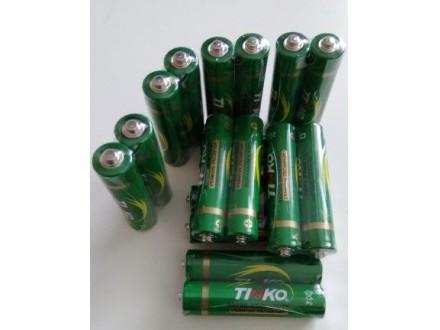 TINKO AAA baterija R03 Heavy Duty - CENA ZA 2 komada !