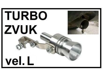 TURBO ZVUK - Pistaljka za auspuh - velicina L