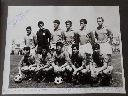 TURNIR UEFA-1967.TURSKA-ALBUM MLADA REPREZENTACIJA YU