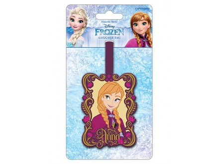 Tag za kofer - Frozen Anna - Frozen