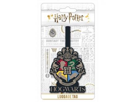 Tag za kofer - Harry Potter, Hogwarts Crest - Harry Potter
